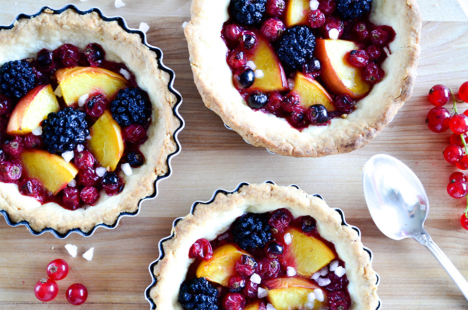 photo tartelettes fruits