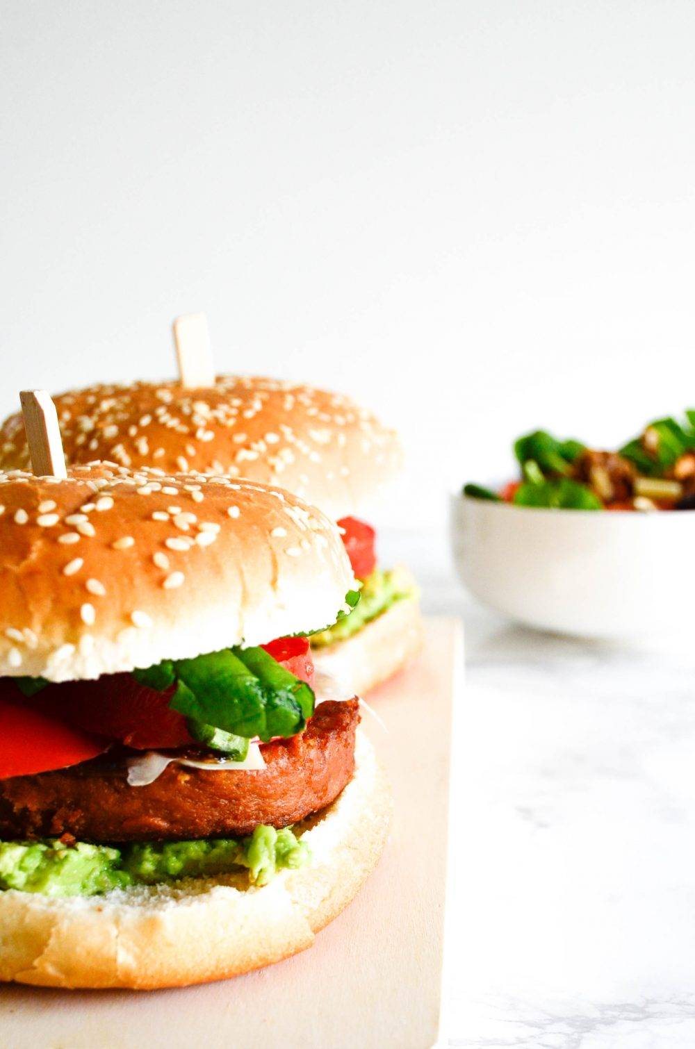 photo veggie burgers